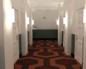 YouTube hallway render